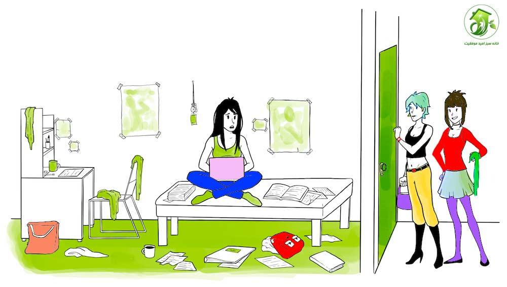 حواس پرتی های خانه هنگام در درس خواندن | خانه سبز امید موفقیت